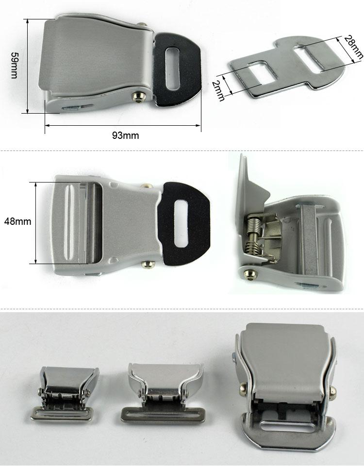 FED033C Airplane Seat Belt Buckle