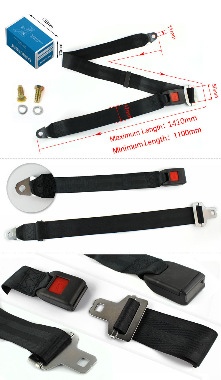 FEA004  Very Lower Price Static Safety Seat Belt