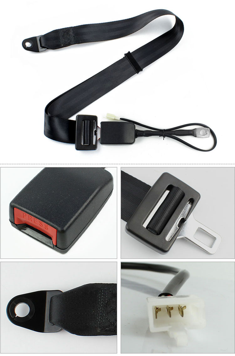 FEA006A Seat Belt with Stalk Buckle Switch