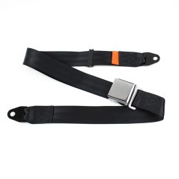 Fea009 Airplane Parts Aircraft Safety Belt Aluminium Buckle 2 Point Steel Airplane Seat material :steel Belt  FEA009-