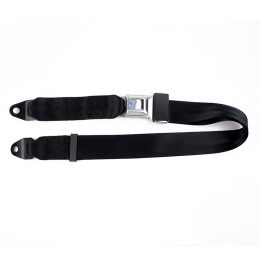 Fea022 Two-Points Seat Belt with SS304+45#Steel Material Buckle Anti-Open Buckle Safety Belt Entertainment Devices material :polyster,SS304,4#steel material buckle FEA022-