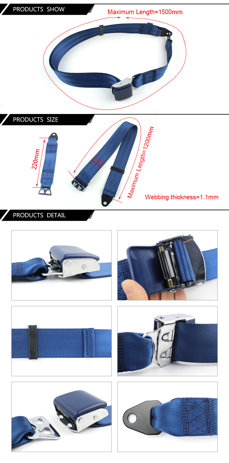 FEA027 Removable Waist Support Safety Belt