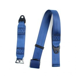Fea027 Car Auto Accessories Seat Belt Parts 2 Point Removable Waist Support Safety Belt material :polyster FEA027-2