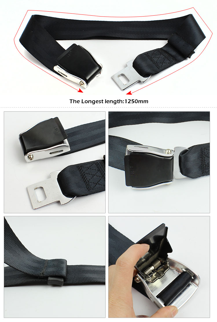 FEA040B New Arrival Airplane Seat Belt Extender