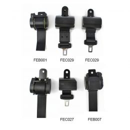 Feb001 Seat Belt Components 2 Point Retractable Safety Belts Parts application :for most car