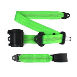 FEB013 Automatic 3-point Seat Belt with Reflective Webbing   item name :3-point ELR seatbelt FEB013-