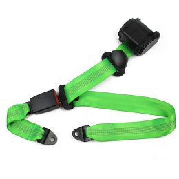 FEB013 Automatic 3-point Seat Belt with Reflective Webbing material :polyster FEB013-01
