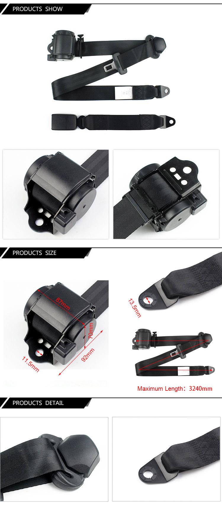 FEB016  High Quality Mini Safety Seat Belt