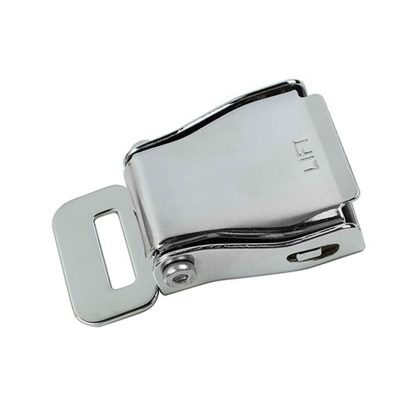 FED033G 45# Steel Airplane Seat Belt BuckleCar Make:for Most Aircraft SeatbeltFED033G