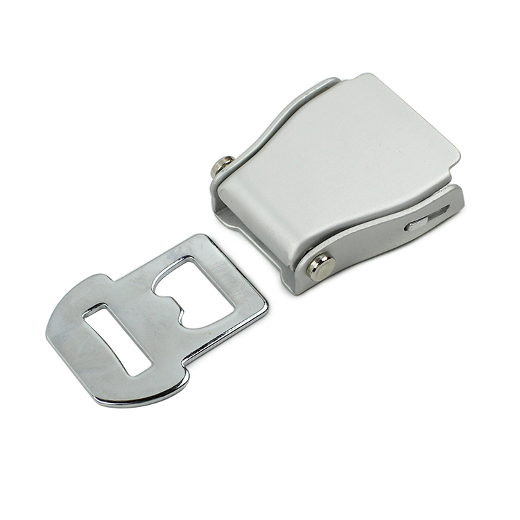 Fed037 High Quality Aluminium Alloy Airplane Seat Belt Buckle condition:new FED037-