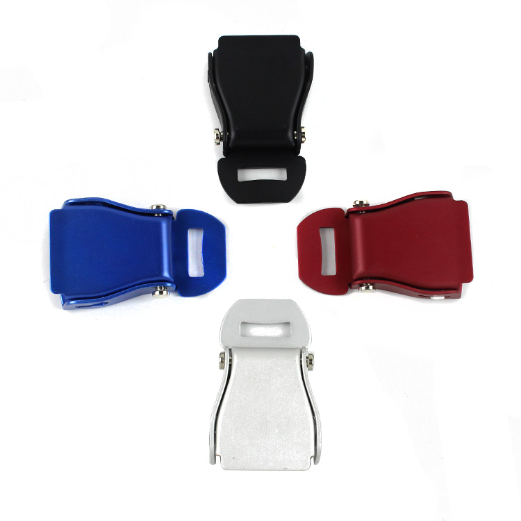Fed037 High Quality Aluminium Alloy Airplane Seat Belt Buckle car make:for most aircraft seatbeltFED037A