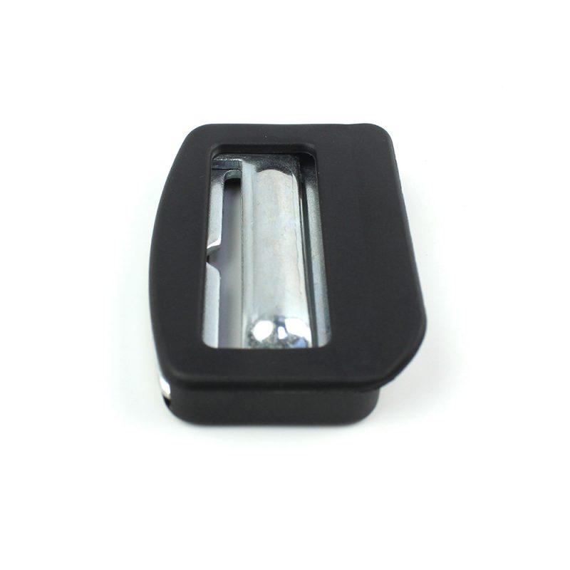 Fek005 High Quality Seat Belt Components Seat Belt Adjuster Metal Adjuster Buckle application :for car seat belt adjusting FEK005-05