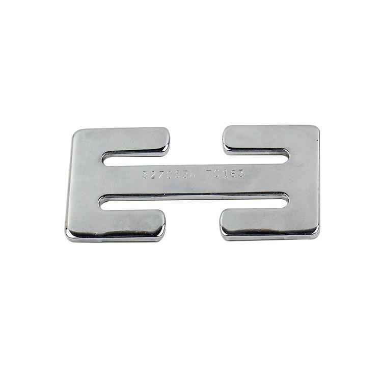 Fek009steel Safety Belt Steel Seat Belt Locking Clip Slide Buckle material :steel FEK009