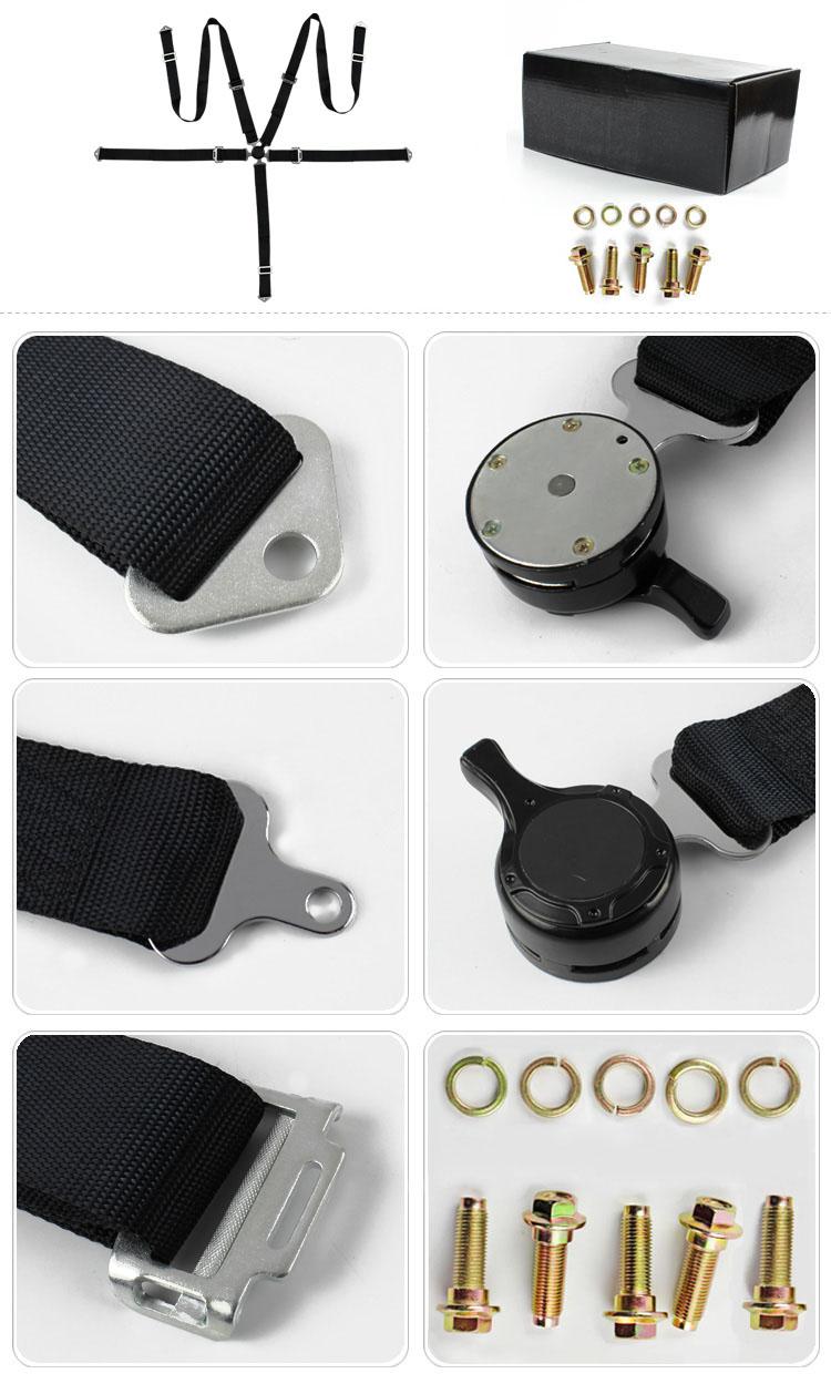 FER010 Hot Selling 5 Point Fia Racing Safety Belt