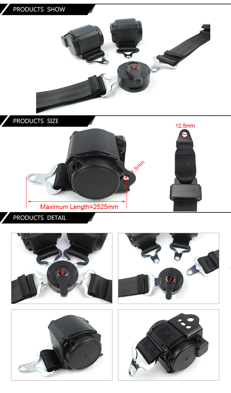4 Point Racing Car Safety Belt