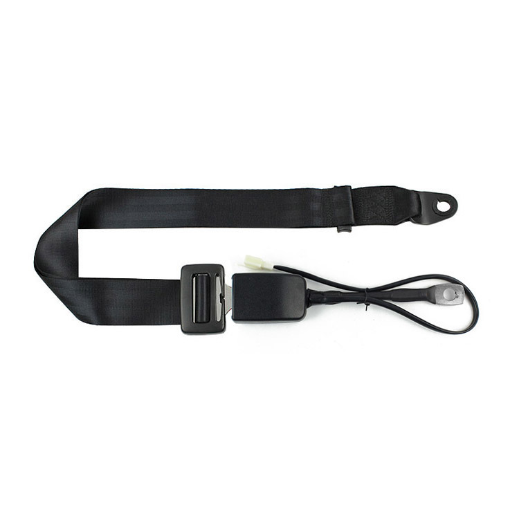 Fea006A-Auto-Parts-Manufacturer-Two-Point-Seat-Belt-with-Stalk-Buckle-Switch