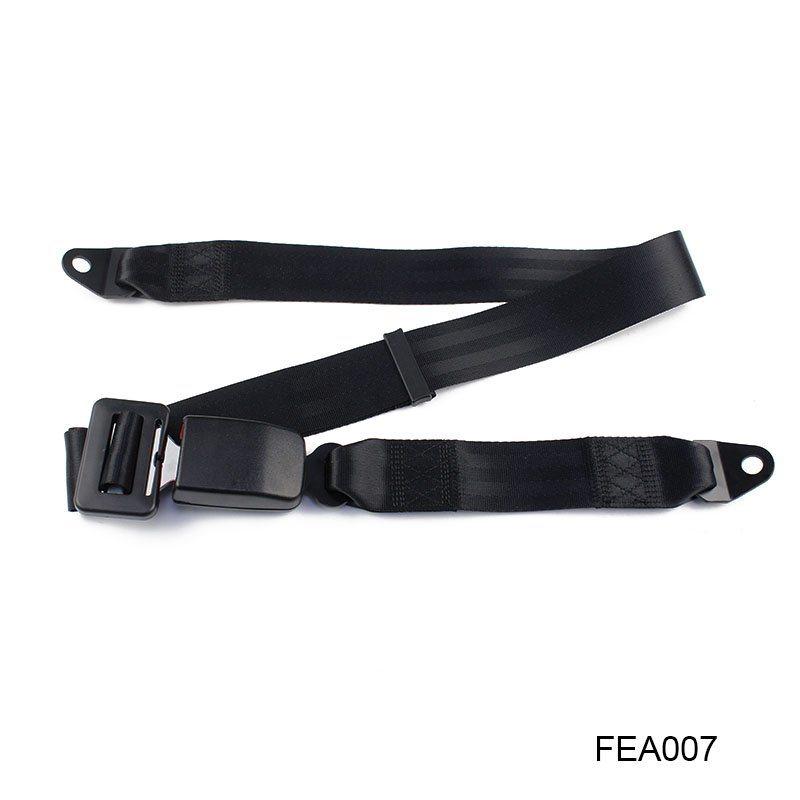 Fea007-Car-Auto-Accessories-Seat-Belt-Parts-2-Point-Removable-Bus-Safety-Seat-Belt
