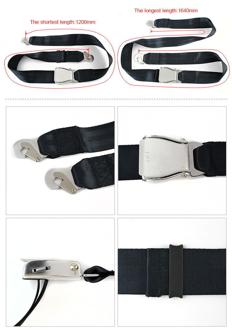 Fea016A-High-Quality-2-Point-Airplane-Seats-Belt-for-Aircraft-Seat