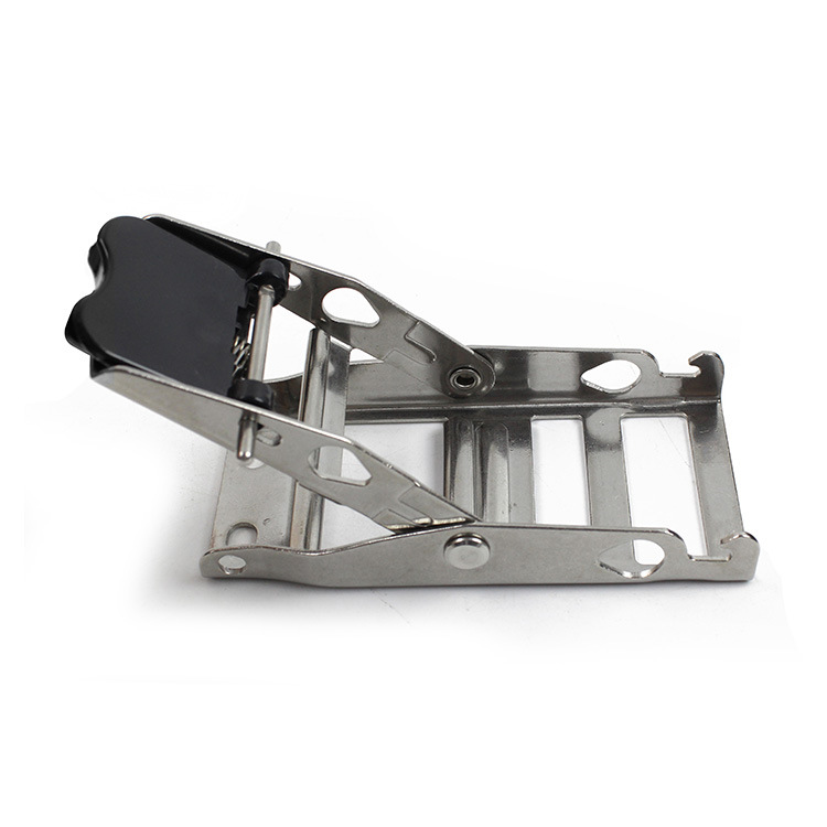 Fea019-Pulling-Force-3-Tons-304-Stainless-Steel-Ratchet-Tie-Down-Strap-Buckle-Cam-Buckle