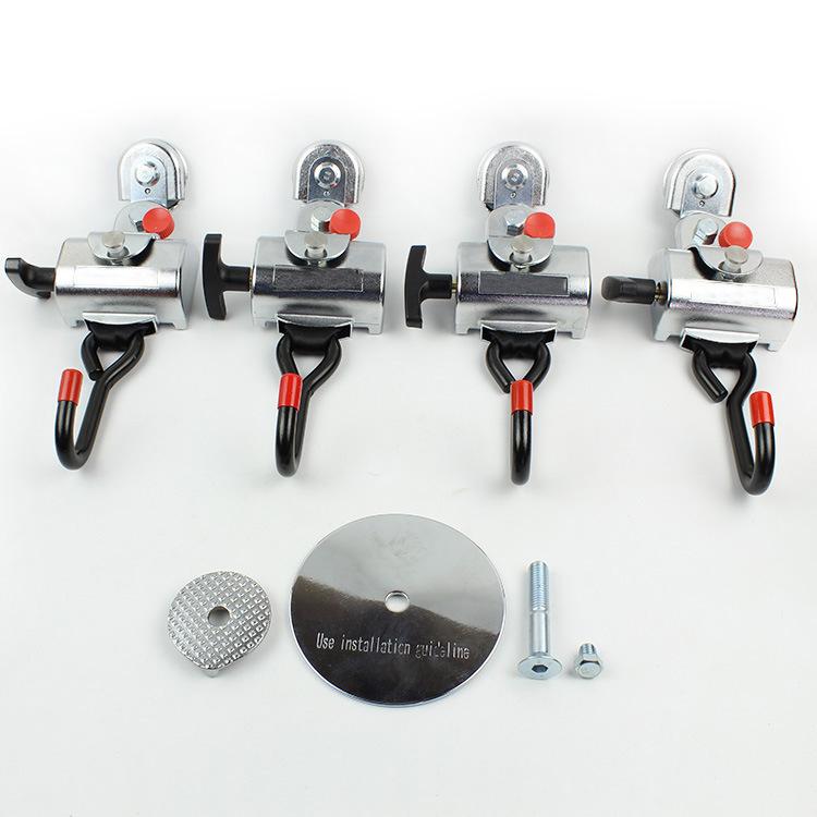 Fes032-Wheelchair-Seatbelt-Complete-Kit-Composed-with-4-PCS-Retrators-1-PC-Lap-Belt