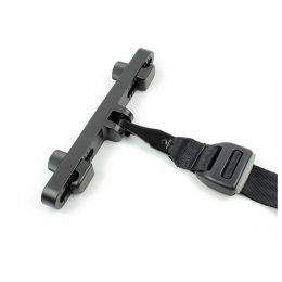 FE2001 Steel Latch ISOFIX Connector Car Seat Belt Buckle Bracket for Child Safety FE2001