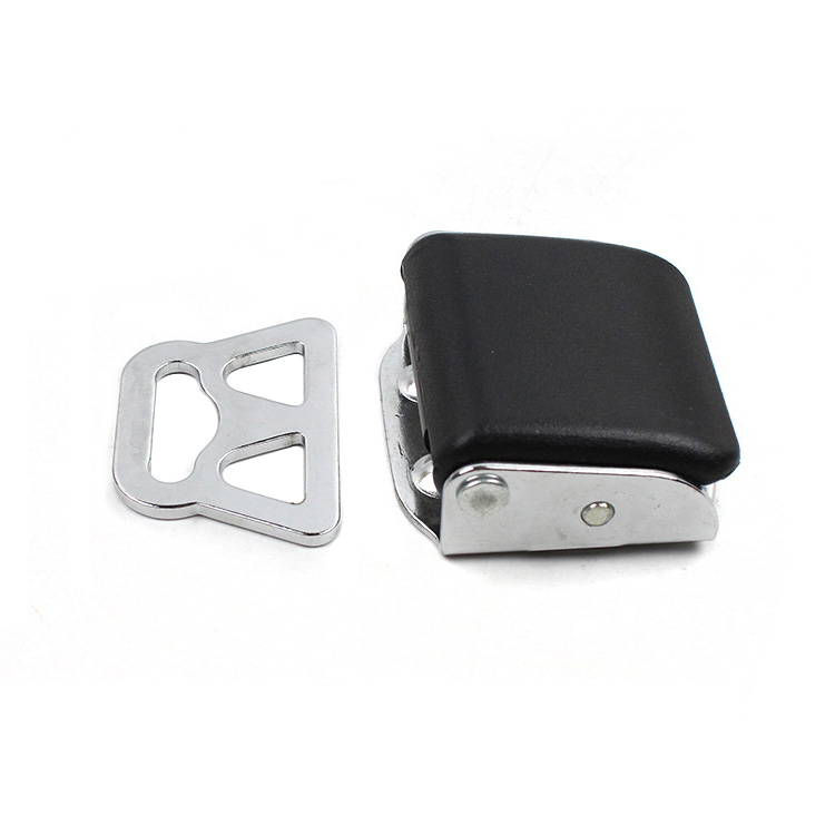 Fed 056 Airplane Seat Belt Buckle Type B material: metal and plasticFED056-