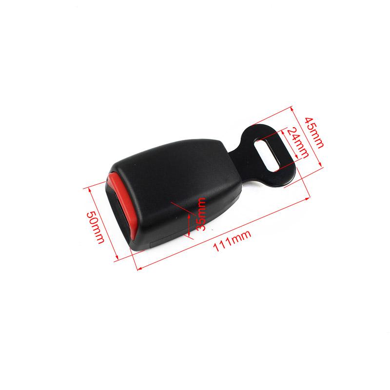 FED086 Short Retainer Car Safety Belt Buckle