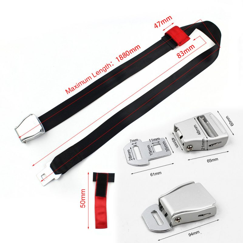 FEA040D Airplane Seat Belt Buckle Seat Belt Height Adjuster for Child FEA040D-05
